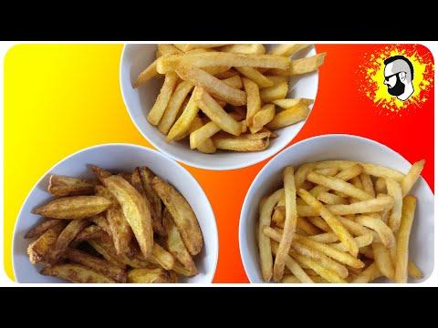 TEST: Pommes in der Heißluftfritteuse (ALLE Varianten!)