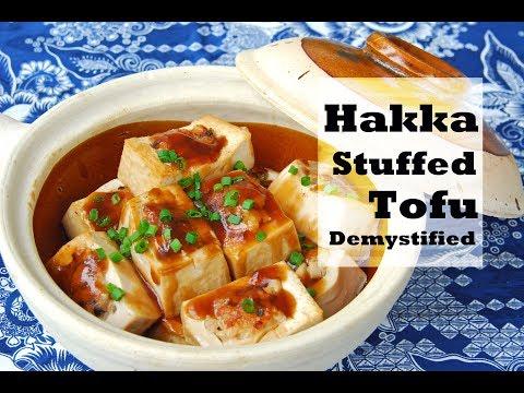 How to Make Hakka Stuffed Tofu