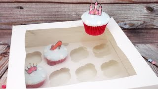 Deep Cupcake Boxes By Cake Craft World