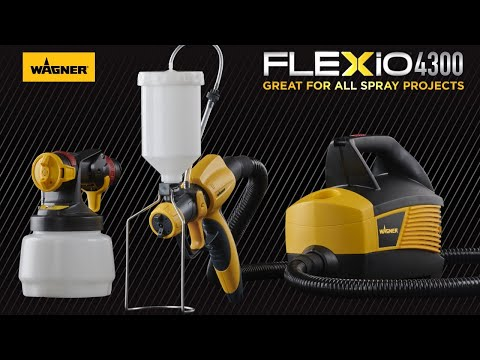 FLEXiO 4300 Paint Sprayer Overview Video