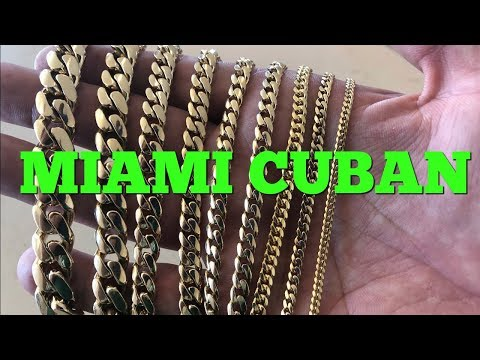 Miami Cuban Link Bracelet Guide