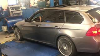 Rullata della rimappatura della BMW SERIE3 330 D - 245CV