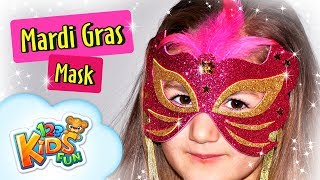 Masquerade Masks - Mardi Gras Mask | DIY By Creative Mom