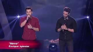"Rui Nogueira e Marcos Nogueira - ""Hero"" | Provas Cegas | The Voice Portugal | Season 3"