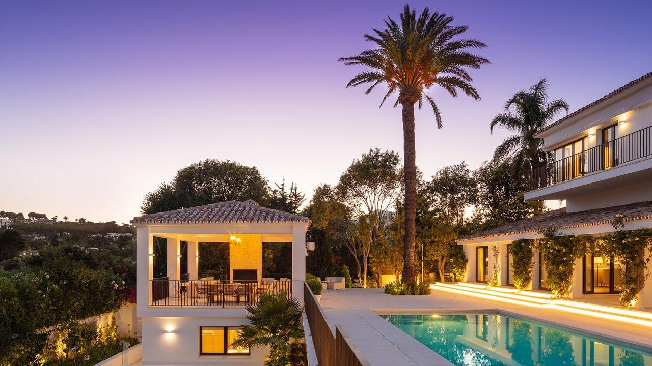 Elegantly Renovated Modern Mediterranean Villa in Nueva Andalucía