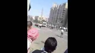 Убийство женщины во время беспорядков в Египте