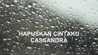 Gambar cover Casandra Hapuskan cintaku