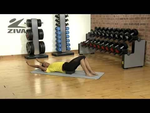 ZIVA Yoga Block - Scissor Kicks