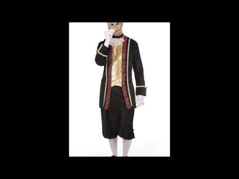 Disfraz de Noble Veneciano para hombre.