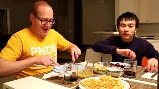 Ăn Tối Và Chia Sẻ Anh Rob Làm Nghề Gì ?| Long Tran USA