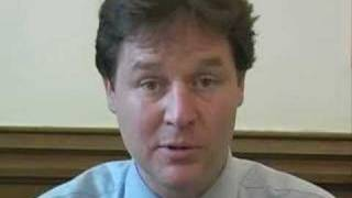 Nick Clegg: Vote Liberal Democrat today