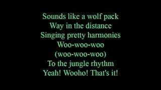 Jungle rhythm - lyrics