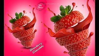 Photoshop | Poster Design Strawberry Flavor | Ju Joy Design Bangla