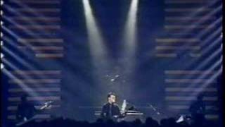 Gary Numan - Replicas   (live Paris) (French TV)