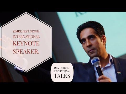 Motivational Speaker Malaysia | Simerjeet Singh | Showreel and Speaker Profile