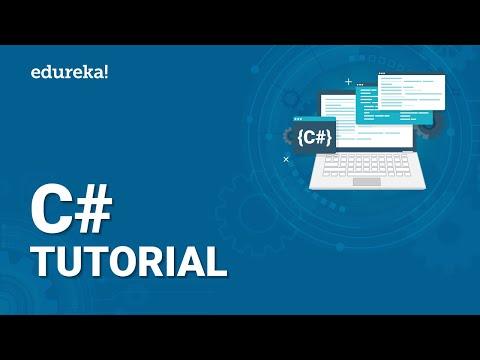 C# Tutorial for Beginners | Learn C# Programming | Visual Studio | Edureka