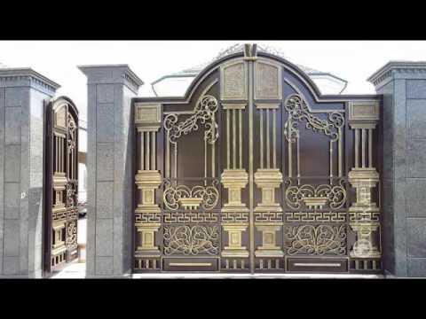 Gia công cửa cổng nhôm đúc Hà Nội đẹp, uy tín