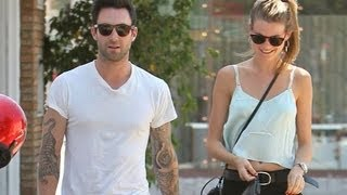 Adam Levine Engaged to Behati Prinsloo! DETAILS!