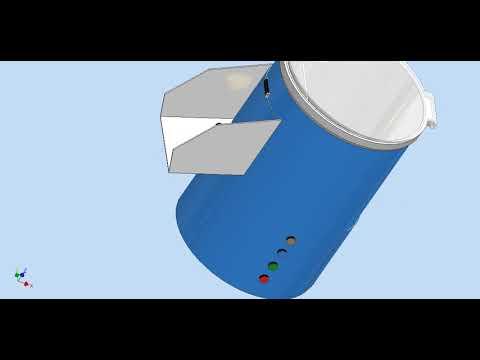 Simulación de máquina peladora de ajos Grupo 10
