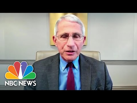 Fauci: 'We Can't Completely Rule Out' Possibility Of Airborne Coronavirus Spread | NBC News NOW