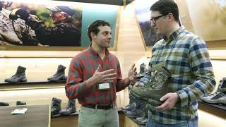 Danner Boots in Mossy Oak - ATA Trade Show 2019