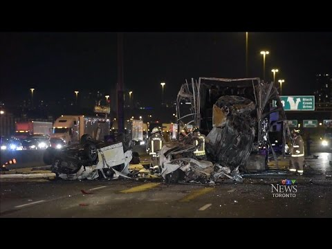 'Actions of one driver' may be to blame for deadly Hwy. 400 crash