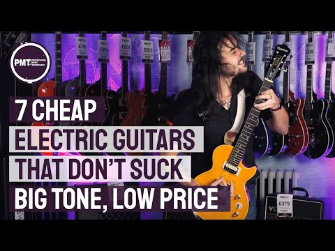 7 Cheap Electric Guitars That Don't Suck – Great Tone at Budget Friendly Prices