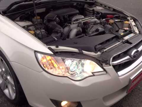 スバル レガシィーツーリングワゴン 2.5i アーバンセレクション エンジン音 (A006)