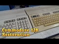 Commodore 128 Complete Restoration And Board Repair