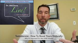 Get More Testosterone...Naturally!