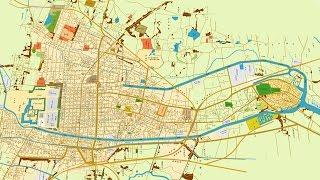 古地図で辿る名古屋400年No3  名古屋市誕生そして三大都市へ[Network2010]