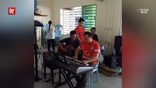 Church band playing Raya song goes viral