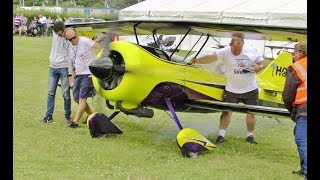 GIANT 86% SCALE RC PITTS PYTHON - 670cc FLAT TWIN - GREGG HAYFIELD AT WINGS & WHEELS - 2017