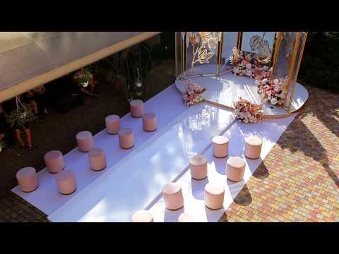 Фотозона на свадьбу, відео 1