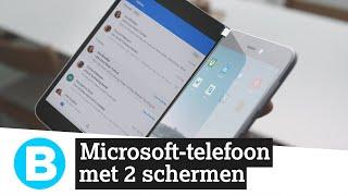 Twee schermen! De nieuwe smartphone en tablet van Microsoft zijn dual-screen