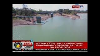 SONA: MWSS, sinisi ng ilang senador sa krisis sa tubig