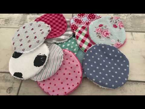 DIY waschbare Abschminkpads