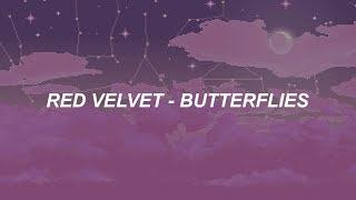 Red Velvet 레드벨벳 'Butterflies' Easy Lyrics
