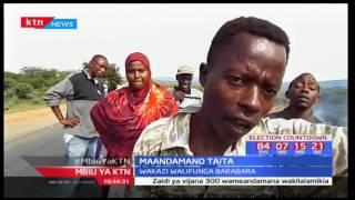 Mbiu ya KTN taarifa kamili sehemu ya pili: Maandamano Voi - 15/05/2017