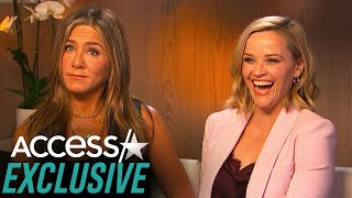 Jennifer Aniston And Reese Witherspoon Recreate Their Favorite Rachel And Jill 'Friends' Moment