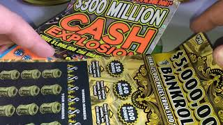 NEW!!! $20 Gold Rush Classic Florida Lottery - hmong video
