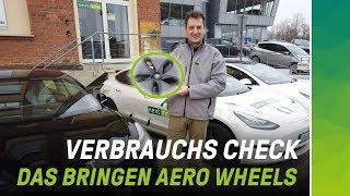 Bringen Aero Felgen beim Tesla Model 3 mehr Reichweite auf der Autobahn?