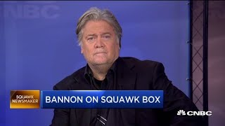 Watch CNBC's full interview with Steve Bannon on the trade war and 2020