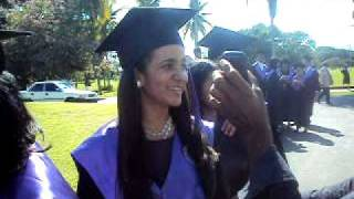 preview picture of video 'Graduacion de la universidad o&m,puerto plata dec.2011'