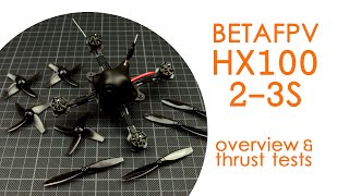 BetaFPV HX100 toothpick class 2-3S FPV micro quad - BNF TESTING