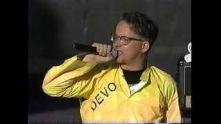 Devo 'Uncontrollable Urge' live Lollapalooza Festival 1996 concert performance