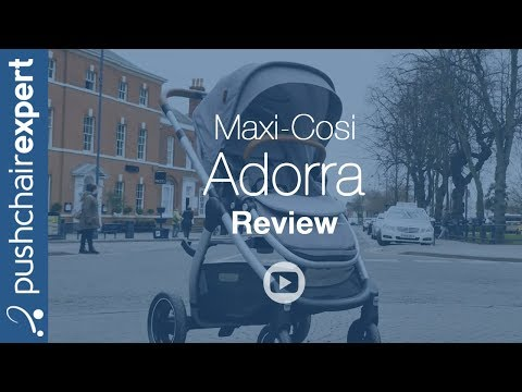 Maxi-Cosi Adorra Review – Pushchair Expert – Up Close