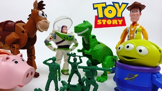 Toy Story Woody and Buzz Meet Their Twins~! Meet Toy Story Hatch'n Heroes !!
