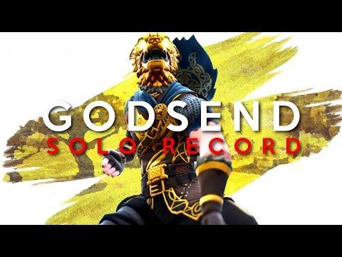A GODSEND - SOLO V SOLO PERSONAL RECORD (Fortnite Battle Royale)