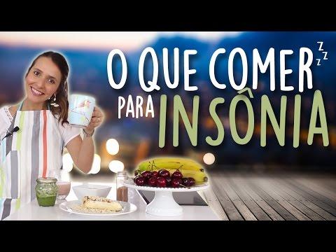 Imagem ilustrativa do vídeo: O que comer para a INSÔNIA